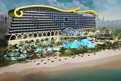 Work on Centara's 600-key resort at Nakheel's Deira Islands progresses