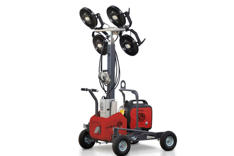 Chicago Pneumatic launches LED light and generator pairing