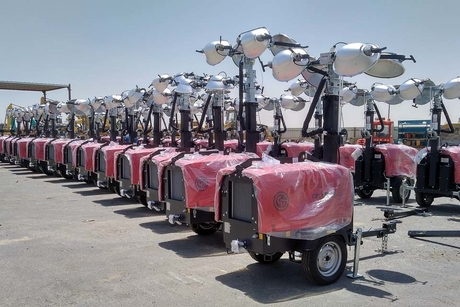 Chicago Pneumatic secures 100 light tower order in Kuwait