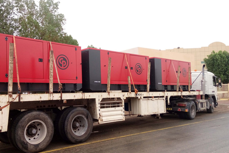 Chicago Pneumatic gensets to power Dubai Canal development