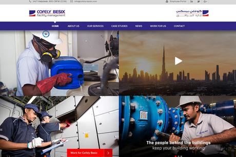 Cofely Besix FM updated website nabs award