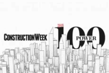 2018 Construction Week Power 100: Top 10 consultants