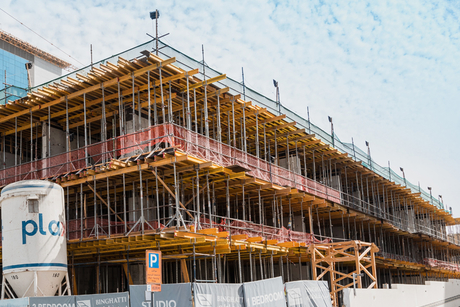 Construction of Dubai's Binghatti Stars on track for 2018 completion