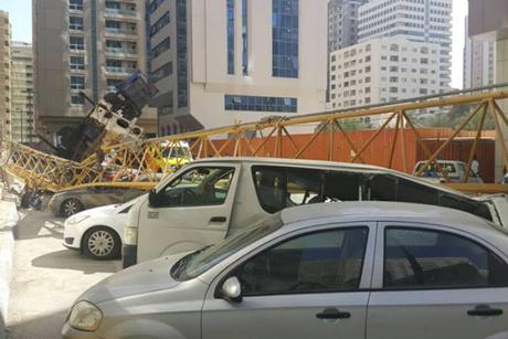 Contractors suspended after Abu Dhabi crane crash