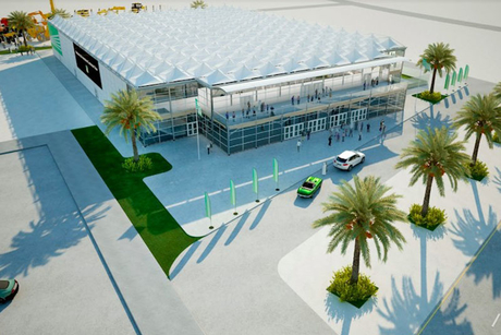 De Boer to build semi-permanent Saudi exhibition hall