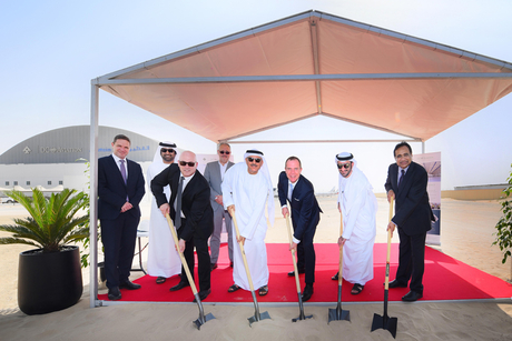 DCAF breaks ground on second hangar in Dubai South