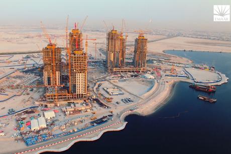 Video: Construction progress at Emaar's Dubai Creek Harbour