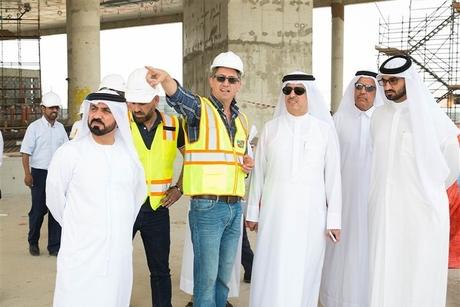 DEWA facility at Dubai solar park 50% ready