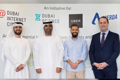 Two Dubai freezones collect tonnes of e-waste in 18-hour campaign