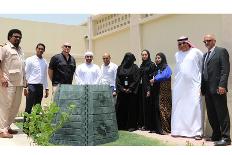Dubai body dispenses 13 waste containers for homes