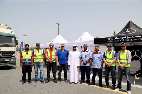 DP World goes up a gear with RTA truck safety programme