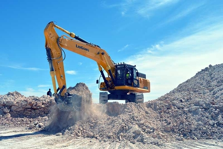 Tough going: Oil prices have affected the Middle East's excavators market