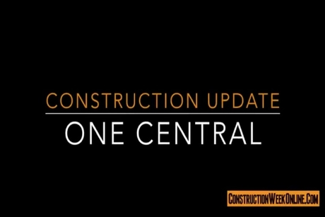 Video: Construction update of Dubai's $2bn One Central