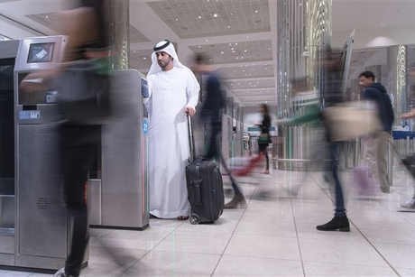 Dubai Int'l Airport smart gates used by 234,000