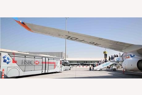 Dubai International Airport's bus fleet optimised