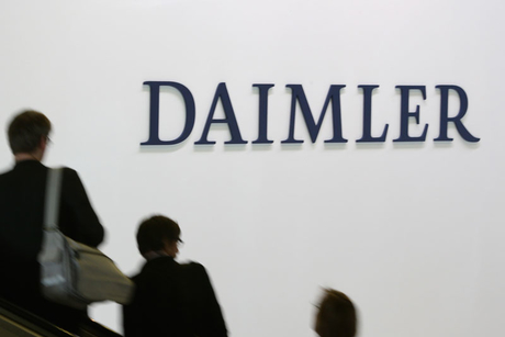 Daimler AG shareholders fight over sausages at AGM
