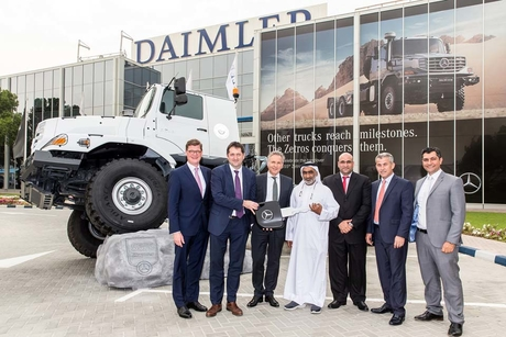 EMC delivers 27 Zetros trucks to Suhail Al Mazroui