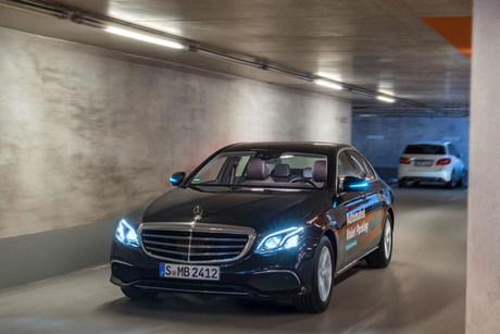 Daimler and Bosch partner on autonomous valet system