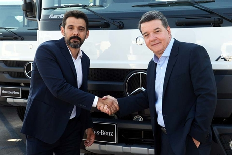 Mercedes-Benz delivers 500 trucks to Brazilian energy company