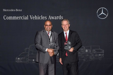 Daimler honours EMC for its regional sales role