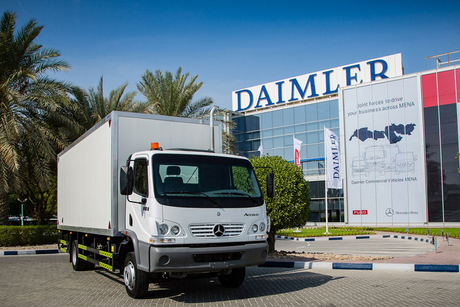 Mercedes-Benz rolls out Accelo, Atego lines in GCC