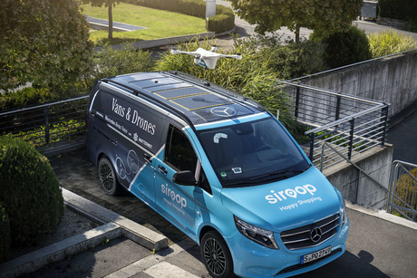 Mercedes-Benz Vans begins drone delivery pilot project