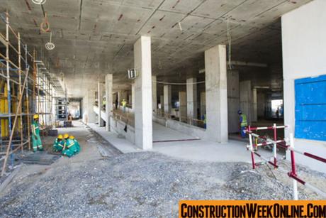 Video: Artesia hotel's construction site in Dubai