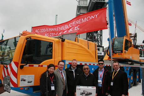 Demag delivers first cranes to Asia since relaunch