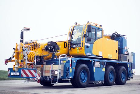 Terex Cranes unveils compact Demag AC 45 'City' mobile crane