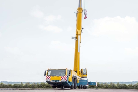 Terex relaunches Demag AC 300-6 all-terrain crane with luffing jib