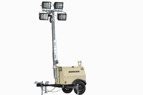 Doosan adds LED option for four light tower models