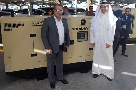 Doosan launches 20kVA to 63kVA gensets tailored for MENA region