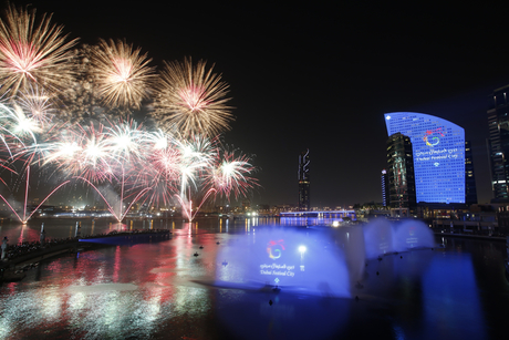 Himoinsa units power Dubai Festival City fountains