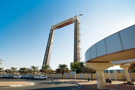 Site visit: Dubai Frame, UAE