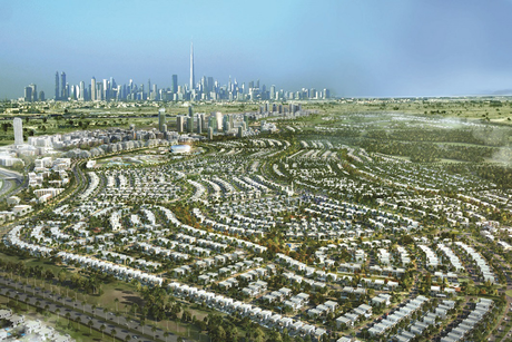 Emaar's Dubai Hills Estate works on schedule