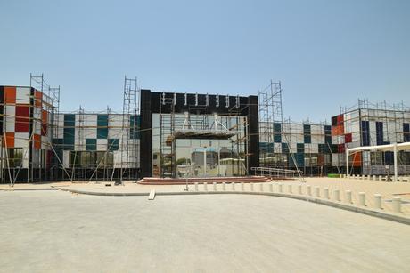 UAE's first coloured solar panel façade installed in Dubai