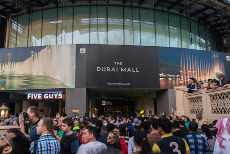 France's Switch Made retrofits Dubai Mall façade lighting