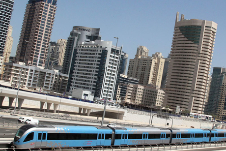 Notices served to buildings along Dubai Metro routes