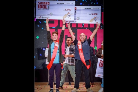 Dubai labourers enjoy the spotlight at Smart Idol talent show