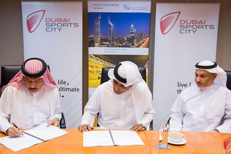 UAE: Dubai Sports City, BMTC ink solar-power street lighting contract