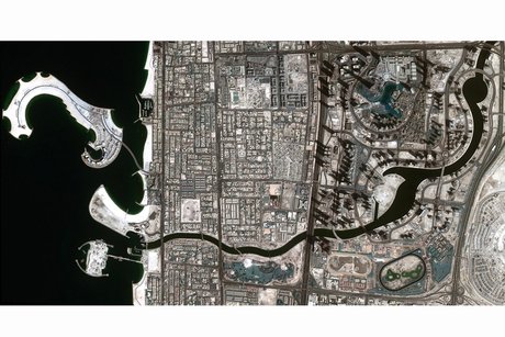 Satellite confirms completion of Dubai Water Canal