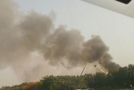 Blaze erupts in Dubai damaging several buildings
