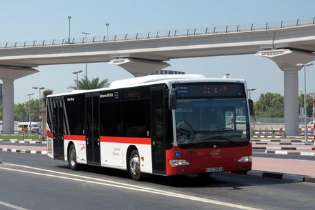 Passenger volumes on Dubai public buses rise 4.6%