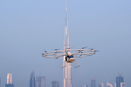 RTA conducts maiden flight of Dubai's autonomous flying taxi
