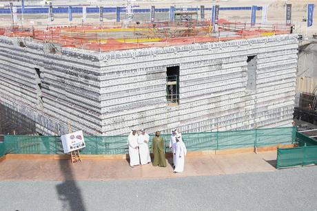 Sheikh Mohammed reviews Dubai Creek Tower construction progress