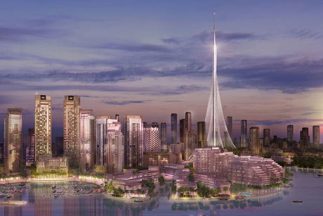 Design development of Emaar's Dubai Creek Tower 100% complete