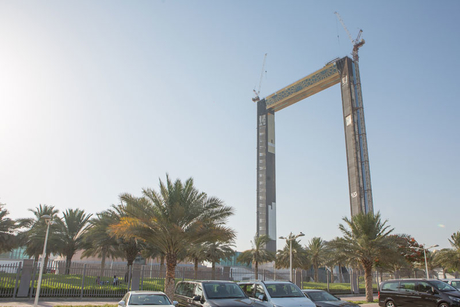 Dubai Frame to open in January 2018