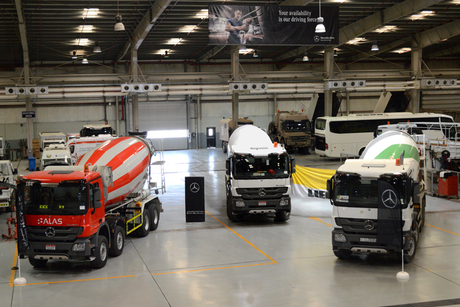 EMC, Liebherr to supply 200 Mercedes-Benz mixers to UAE customers