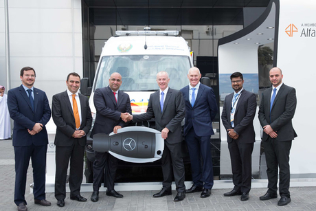EMC turns 100 Sprinters into Abu Dhabi ambulances