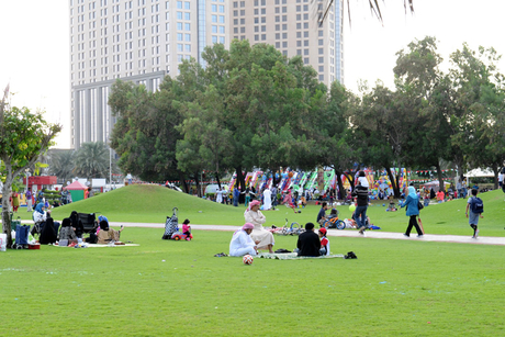 Dubai's parks received over 162,000 visitors during Eid Al Fitr 2017
